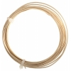 German Style Wire Round Gold 18ga 4M(13ft)